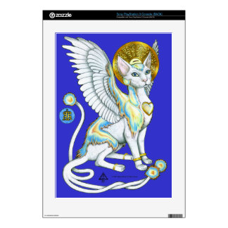 Angels Walk on 4 Paws Playstation 3 Skin v 2 Decal For The PS3