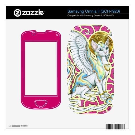 Angels Walk on 4 Paws Samsung Omnia II Skin