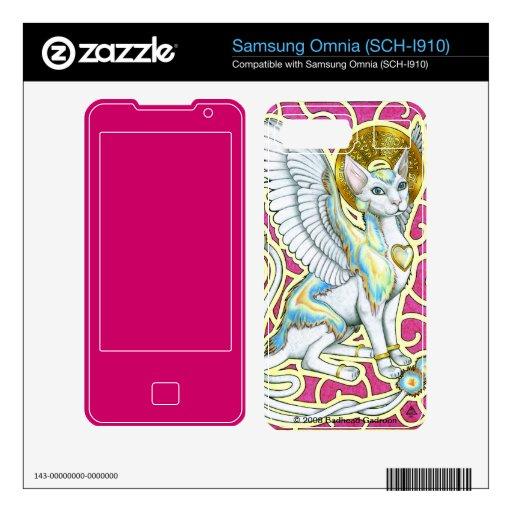 Angels Walk on 4 Paws Samsung Omnia Skin