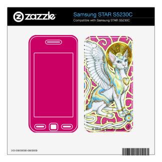 Angels Walk on 4 Paws Samsung STAR Skin Samsung STAR S5230C Skin