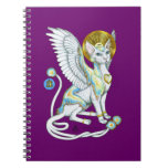 Angels Walk on 4 Paws Style 2 Notebook