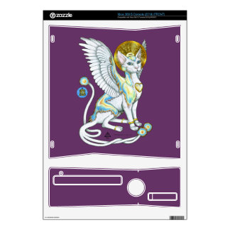 Angels Walk on 4 Paws XBox 360 S 2010 Skin Skins For Xbox 360 S