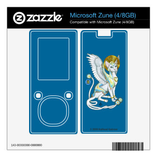 Angels Walk on 4 Paws Zune 4 GB & 8 GB Skin V.2 Skin For The Zune