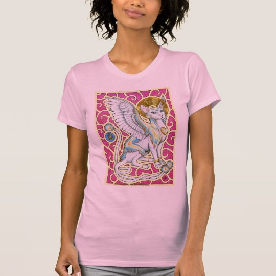 Angels Walk on Four Paws Shirt
