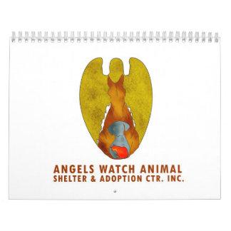 Angels Watch Animal Shelter Calendar