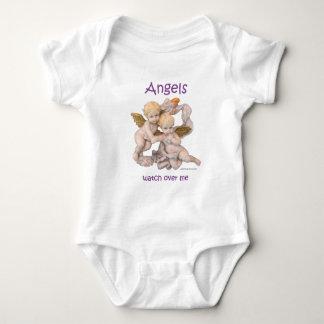 Angels Watch Over Me Baby Bodysuit