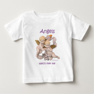 Angels Watch Over Me Baby T-Shirt