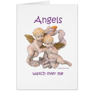 Angels Watch Over Me Card