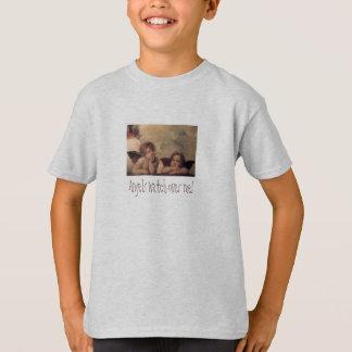 Angels Watch Over Me Kids Shirt