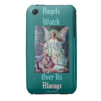 Angels Watch Over Us Always iPhone 3 Case