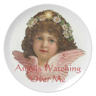 Angels Watching Over Me 7 Vintage Print Plate