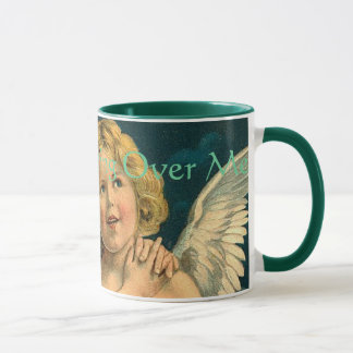 Angels Watching Over Me 8 Vintage Print Coffee Mug
