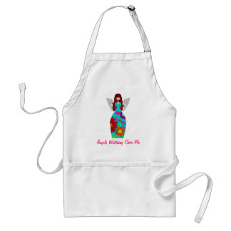 Angels Watching Over Me Adult Apron