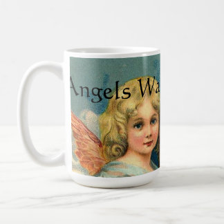 Angels Watching Over Me Coffee Mug