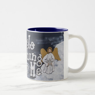 Angels Watching Over Me Mug
