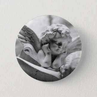 Angels Watching Over Me Pinback Button