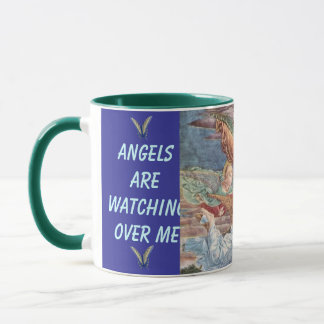 Angels watching over Me travel mug
