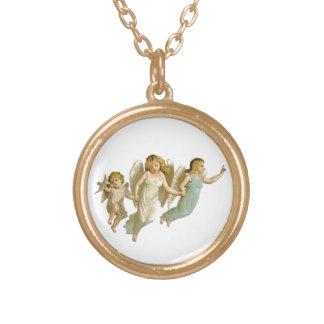 Angel's Way Round Necklace