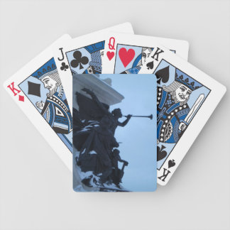 Angels we have heard on high. bicycle playing cards