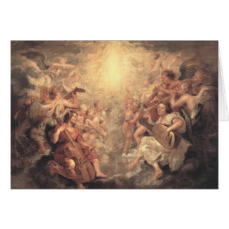 Angels We Have Heard on High Greeting Card