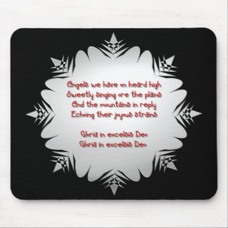 """"""" Angels we have heard on high """" Mouse Pad"""