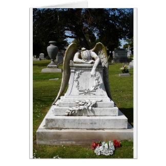 Angels Weep Note Card