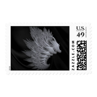 Angels Wing Postage Stamp