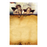 ANGELS / Winged Cherubs ,Parchment Stationery