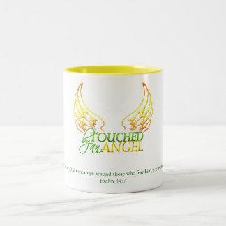 Angel's Wings1 Two-Tone Coffee Mug
