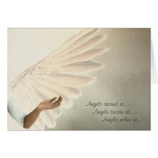 Angels Wings G Card - Custom Order Template Design