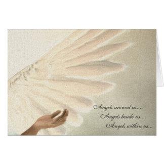 Angels Wings Greeting Card - Custom Order 2