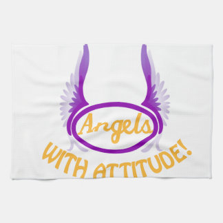 Angels With Attitude Towels