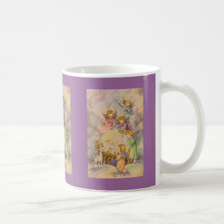 Angels with Baby Jesus Coffee Mug