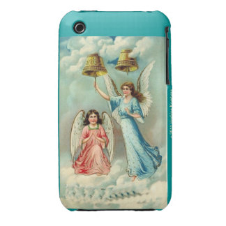Angels with Bells in the Clouds Case-Mate iPhone 3 Cases