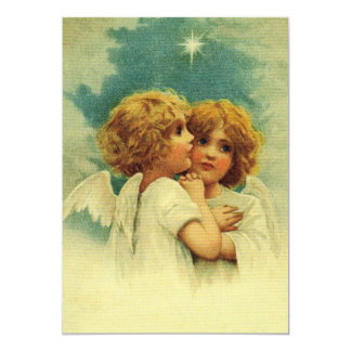 Angels with Blue Eyes Card