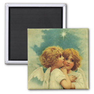 Angels with Blue Eyes Magnet