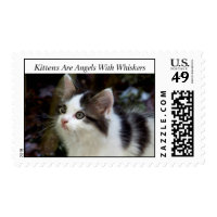 Angels With Whiskers (kitten) Stamps