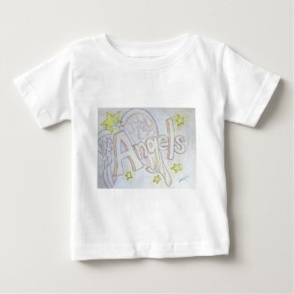Angels Word Inspirational Custom Art Shirts