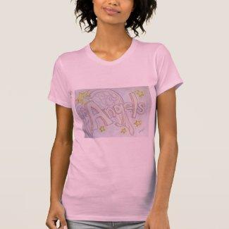 Angels Word Inspirational Custom Art Shirts