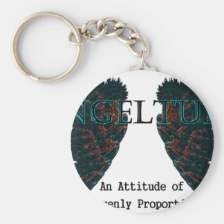 Angeltude three keychain
