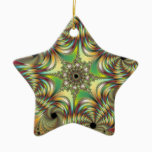 Angelus Fractal Ceramic Ornament