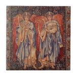 Ángelus Laudantes, ángeles del vintage de Burne Azulejos Ceramicos
