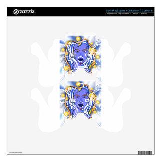 Angeonilium V2 - beautiful angel PS3 Controller Skin