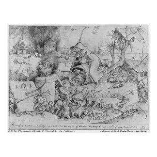 Anger, 1557 postcard