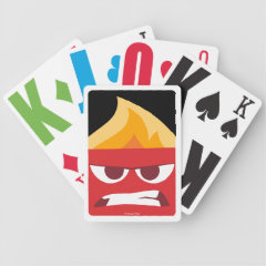 Anger Bicycle Playing Cards
