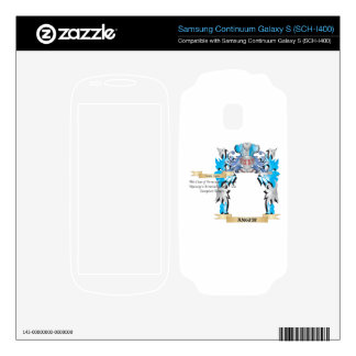 Anger Coat Of Arms Samsung Continuum Decals