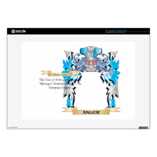 """Anger Coat Of Arms Skin For 15"""" Laptop"""