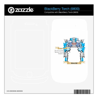 Anger Coat Of Arms BlackBerry Decal
