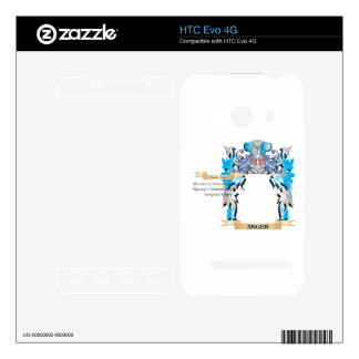 Anger Coat Of Arms HTC Evo 4G Skin