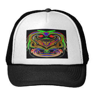 Anger Expression Reversible I AM ANGRY Art Mesh Hats